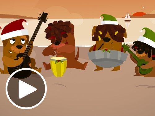 Animated Reggae Christmas eGift Card
