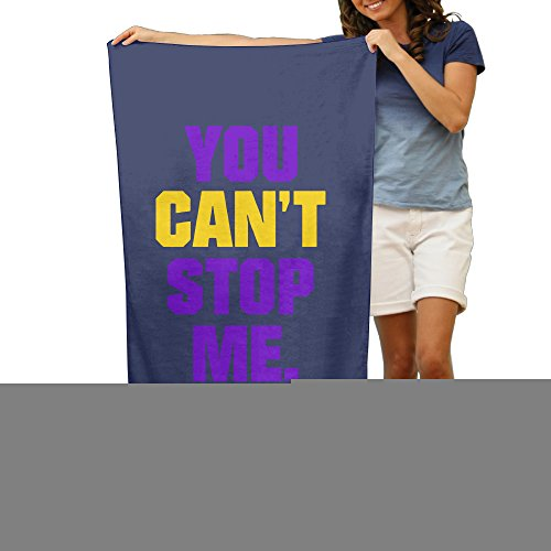 LCYC You Can't Stop Me Adult Vibrant Beach Or Pool Bath Towel 80cm*130cm (Wimpy Adult Costume)