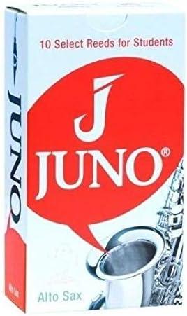 Box of 10 Vandoren Juno JSR6115 Student Alto Saxophone Reeds