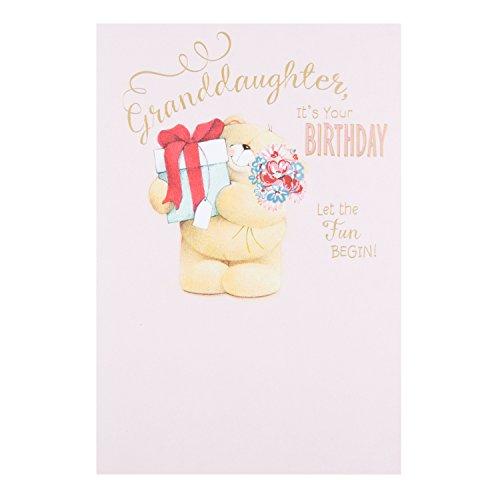 Hallmark Forever Friends Granddaughter Birthday Card 'Let The Fun Begin' - Medium
