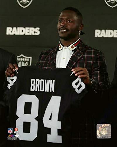 Antonio Brown Raiders >> Amazon Com Raiders Antonio Brown 8 X 10 Football Photo