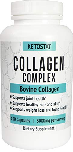 KetoStat%C2%AE Hydrolyzed Collagen Capsules Healthier product image