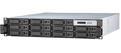 RAID Machine D7212RE 12-bay 10GbE iSCSI SAN Rackmount Dual Controller / High Availability