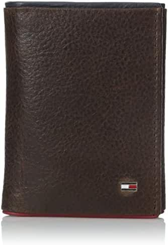 Tommy Hilfiger Men's Raymond Trifold Exterior with ID Wallet