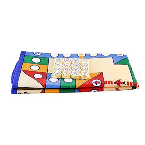 Lovoski 16ピース 駒 ボードゲーム 飛行 チェスカーペット 子供 フライトゲーム おもちゃ ギフト プレゼント