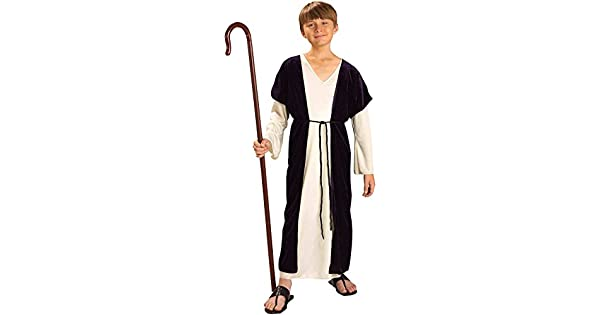 Amazon.com: Disfraz de pastor para niño., Niño(a) L ...
