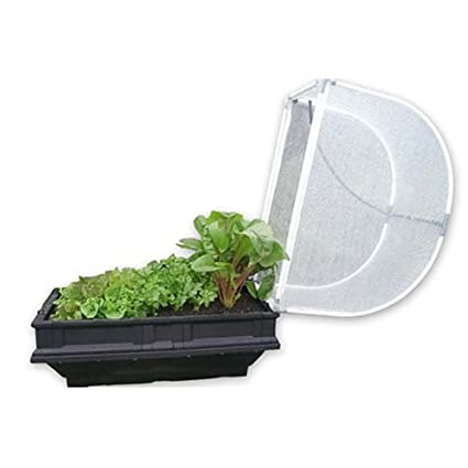 Vegepod Small Premium Raised Container Garden, Generous 5.4 Square Foot  Container With Protective Cover,