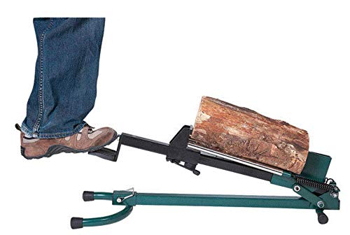 (Quality Craft Foot-Operated Log Splitter - 1.5-Ton Capacity, Model# LSF-001 )