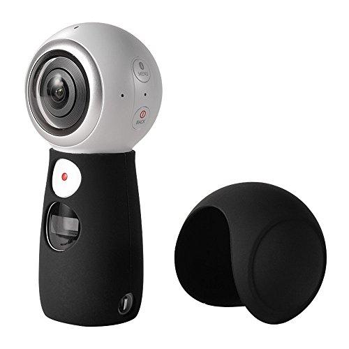 Aobelieve Silicone Cover for Samsung Gear 360 (2017 Edition) 4K Camera SM-C210