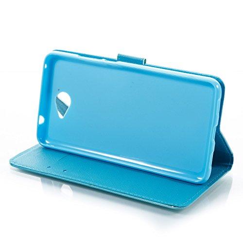 Funda Huawei Y7, Alfort Carcasa Huawei Y7 Prime Cover Case Pintada de la cubierta del Cuero Moda Cascara con Soporte Plegable y Ranura de Tarjeta ( Sonrisa ) Mariposa Dorada