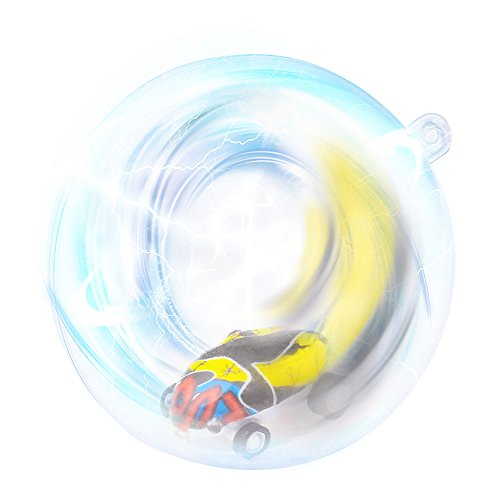 Yikou Mini High Speed Laser Car, Mini High-Speed Stunt Car Decompression Toy 360° Rotating Laser Chariot for Kids Age 6 and up, One Car in One Package