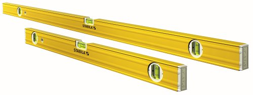 Stabila 29532 3-Vial Contractors Level Set, Includes 58-Inch and 32-Inch (29058 & 29032)