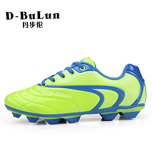 Xing Lin Chaussures De Football Chaussures De Football Masculin LEnfoncement Nail Ball Football Chaussures, 38, Fluorescent