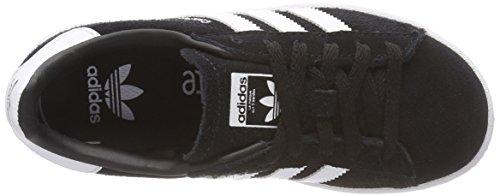 adidas Campus C, Zapatillas de Deporte Unisex Adults Negro (Negbas/Ftwbla/Ftwbla 000)