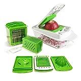 Vegetable Chopper Slicer Cutter Peeler 11 Interchangeable...