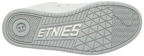 Etnies Mens Fader Scarpa Da Skate Bianco / Bianco / Grigio Chiaro
