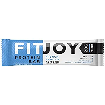 FitJoy Protein Bars Low Carb Low Sugar, Gluten Free High Protein Snacks