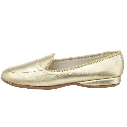 Estrechos Planos US Mujer 5 Green Classic 6 Oro Zapatos Daniel PqgH0z