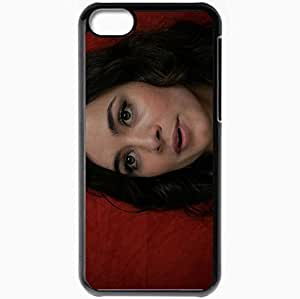 Personalized iPhone 5C Cell phone Case/Cover Skin Alice Braga Black