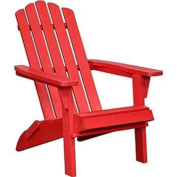 Amazon Com Polyteak Classic Folding Adirondack Chair