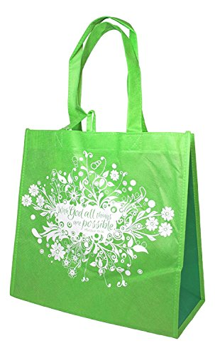 Divinity Inspirational Reusable Shopping Green