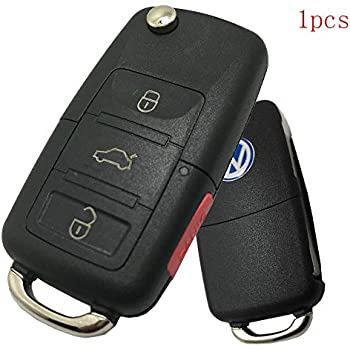 Amazon.com: AndyGo Luminous Leather Remote Key Fob Case Fit ...