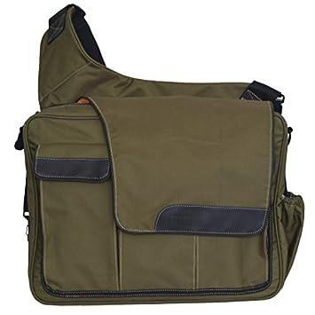 designer disper bag o717  Diaper Dude Messenger 2 Olive Diaper Bag with Changing Pad + Cross Body Designer  Diaper Bag