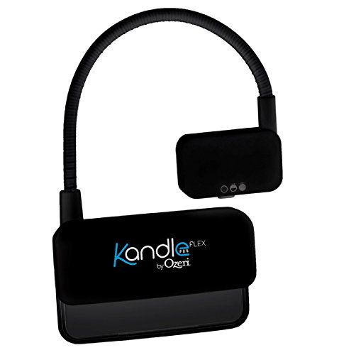 Kandle by Ozeri Flex Book Light - LED Reading Light Designed for Books and eReaders.