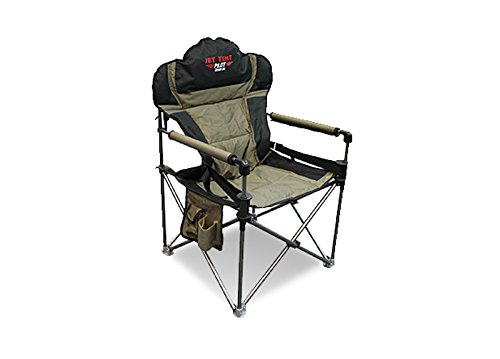 - Jet Tent Pilot DX Camping Chair with Lumbar Support