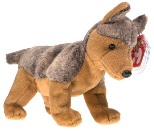 TY Beanie Baby - SARGE the German Shephard Dog (Beanie Baby Dog)