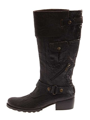 YKX & Co Boots Leather Boots Leather Moro Made In Italy Women's Boots 3094 Moro BT0BY4