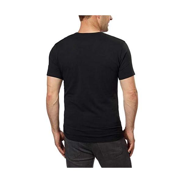Calvin Klein Cotton Stretch V-Neck, Classic Fit T-Shirt, Men's (3-pack) (White or Black)