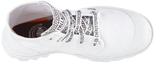 Palladium Unisex-Erwachsene Pampa Hi Sneaker Weiß (70th Anniversary White)