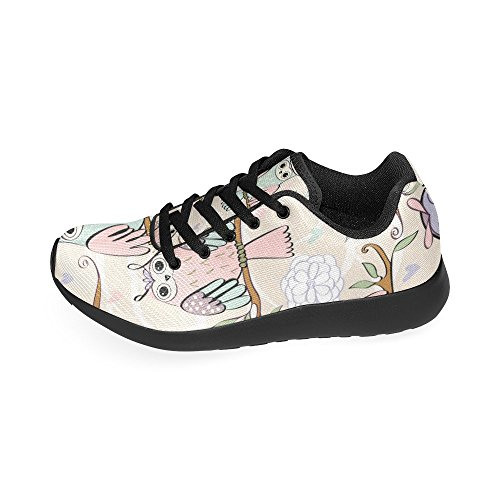 Casual Running 15 Women's US Lightweight Athletic 6 Print InterestPrint Shoes Pattern Cute Sneakers On Owl Size wgx8XxYqZ
