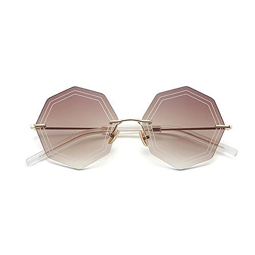 Gafas de playa de definición irregular de conducción de ZHIRONG Color espejo aire moda C viajes alta polarizadas libre B al sol gafas polígono de de dYzY4nx