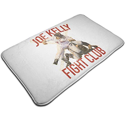 Ellive Vintage Joe Kelly Fight Boston Baseball Club Non-Slip Memory Foam Bath - Rug Kelly Vintage