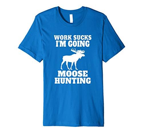 Funny Moose Hunting Camp Premium T-Shirt