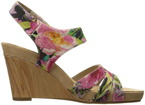 Plüsch Aerosoles Wedge Damen Combo Floral Day A2 Sandal qPFUPEw