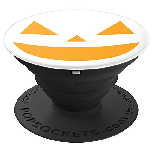 Smiley Face For Candy - Halloween October 31st - PopSockets Grip and Stand for Phones and Tablets -