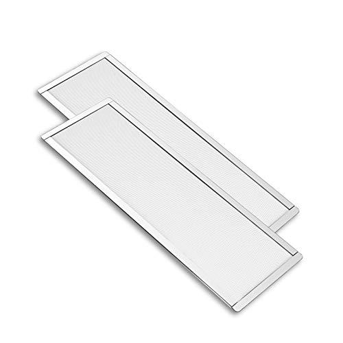 2 Filtros Magneticos contra polvo 120x360mm para Ventilador