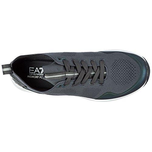 Emporio Scarpe Ea7 Nuove Armani Originale Sneakers Grigio Uomo WW6r4px1c