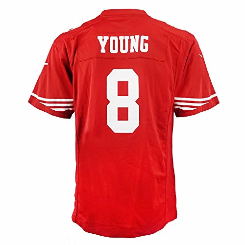 Nike Steve Young San Francisco 49ers NFL Red Game Team Jersey for Youth (XL)