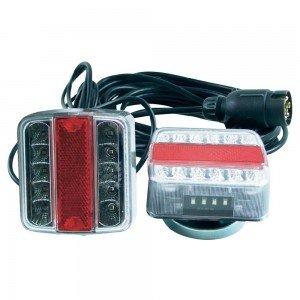 Kit de iluminación LED con fijación magnética para remolque: Amazon.es: Iluminación