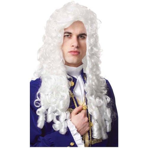 Nobleman Wig Costume (Mens Colonial Aristocrat Costume)