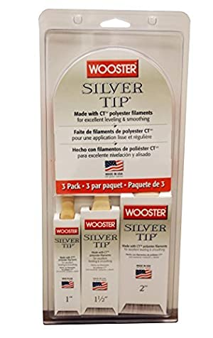 Wooster Brush 5227 Silver Tip Varnish (Pack of 3) by Wooster Brush