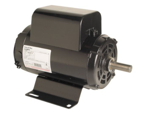 A.O. Smith B384 5 HP, 3600 RPM, 208-230 Volts, 1.15 Service Factor, CWLE Rotation, 7/8-Inch by 2-1/4-Inch Keyed Shaft Compressor Motor