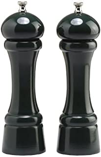 """product image for Chef Specialties 8"""" Windsor Pepper Mill and Salt Mill Set, Forest Green"""