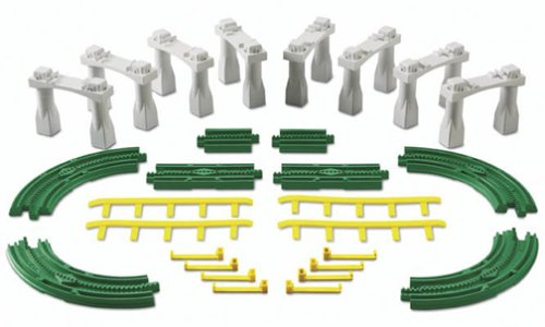 Fisher-Price GeoTrax Rail & Road System Elevation Tracks - Flats Pack - Geotrax Elevation Track Pack