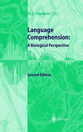 Read Online Language Comprehension: A Biological Perspective pdf