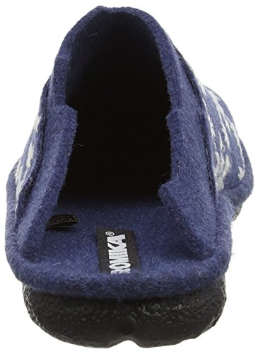 Bleu Mikado Chaussons Blau Femme Mules kombi 98 501 ROMIKA XFqxdX